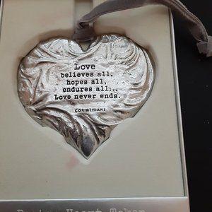 Hallmark Pewter  Heart